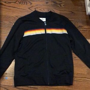 American Eagle Nacvy zip up track suit sweater